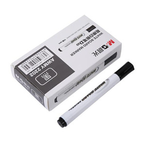 M&G/晨光 易擦白板笔 AWMY2202 2.0mm 黑色 1支