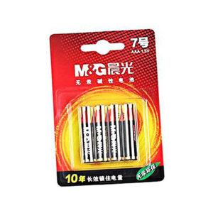 M&G/晨光 7号碱性电池 ARC92557 4粒装 1包