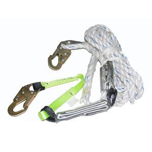 BAIYEAN/百业安 抓绳器套装 EPI-TZ5400-20M 20m Φ16mm 1套