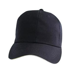 SAIRUI/赛锐 简约款轻型防撞帽 SFT-TB010-26BK 黑色 PE帽壳 6.5cm帽檐 1顶