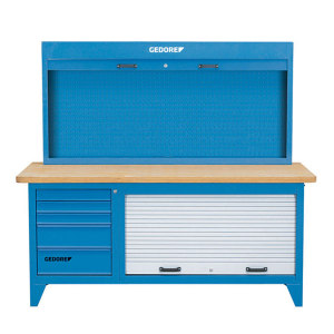 GEDORE/吉多瑞 BR 1500 LH带有工具柜的工作台 BR 1500 LH 5抽 1台