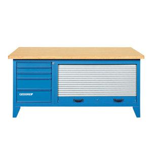 GEDORE/吉多瑞 BR 1500 LH带有工具柜的工作台 B 1500 L 5抽 1台