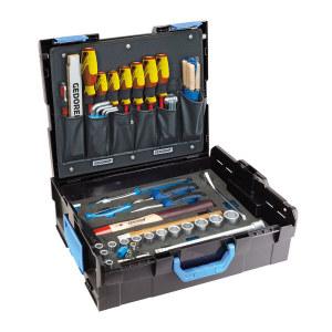 GEDORE/吉多瑞 1100-01吉多瑞L-BOXX136带机械配件组套带塑盒 1100-01 58件 1套