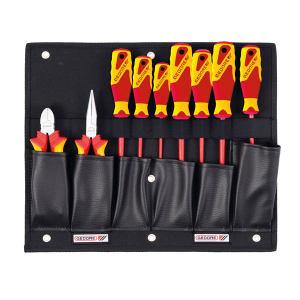 GEDORE/吉多瑞 1100W-002VDE带VDE钳子/螺丝刀组合的工具板 1100 W-002 VDE 9件 1套