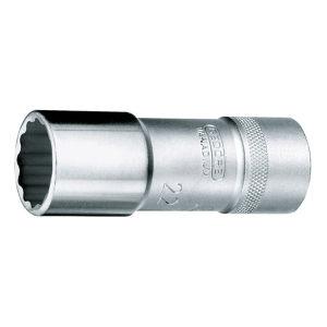 "GEDORE/吉多瑞 D 19 L(AF)型1/2""系列套筒(十二边UD形,加长型) D 19 L 1/2AF 1/2"" 1只"