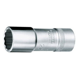 "GEDORE/吉多瑞 D 19 L(AF)型1/2""系列套筒(十二边UD形,加长型) D 19 L 11/16AF 11/16"" 1只"