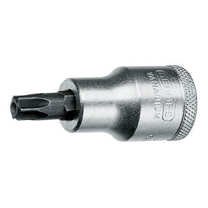 "GEDORE/吉多瑞 ITX 19 B型1/2""系列旋具头套筒(用于带销钉的凹TORX螺丝) ITX 19 B T20 T20 1支"