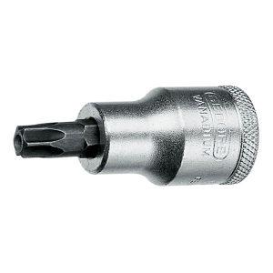 "GEDORE/吉多瑞 ITX 19 B型1/2""系列旋具头套筒(用于带销钉的凹TORX螺丝) ITX 19 B T25 T25 1支"