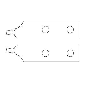 GEDORE/吉多瑞 8000 J 4-J 6型内卡簧钳(备用钳嘴) E-8000 J 4 EL 3.2mm 1把