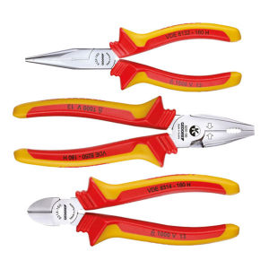 GEDORE/吉多瑞 1102-002 VDE型VDE钳子套装 1102-002 VDE 3件 1套