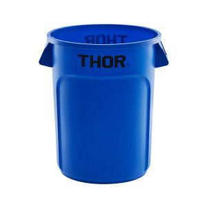 TRUST/特耐适 圆形储物桶 1013-蓝色 56×70cm 121L 蓝色 1个