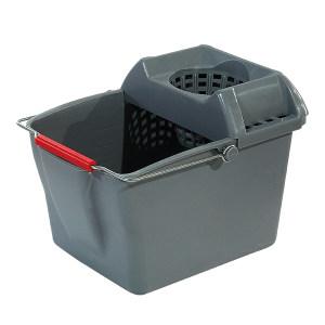 TRUST/特耐适 桶和拖把榨干器组合 5231 14L 灰色 43×31.2×31.6cm 1个