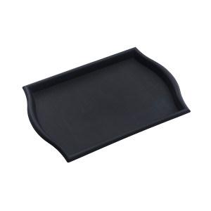 TRUST/特耐适 塑料托盘 8241-黑色 黑色 40×30.5cm 1个