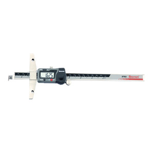 """STARRETT/施泰力 数显深度规 3753A-8/200 0-8""""/200mm测量范围 带保护盒 不代为第三方检测 1只"""
