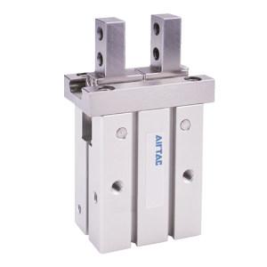 AIRTAC/亚德客 HFSK系列带导轨平行型气动手指(单动常闭滚柱型) HFSK20F 缸径20mm 2爪 1个
