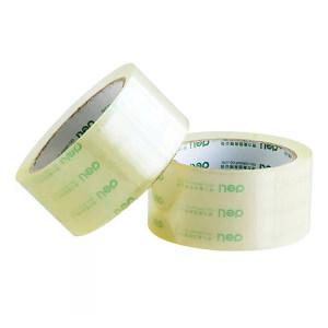 DELI/得力 普透封箱胶带 30182 60y×45mm 透明 6卷装 1筒