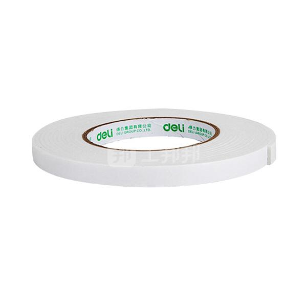 DELI/得力 EVA泡棉双面胶带 30411 5y×18mm 白色 1袋