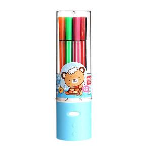 DELI/得力 12色优酷水彩笔 7065 1桶