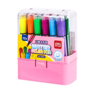 DELI/得力 12色水彩笔(粉) 70652 1盒