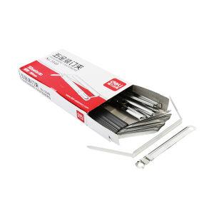DELI/得力 五金装订夹(金属色) 5549 50套 1盒