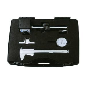 FOWLER 4件套量具 52223281 游标卡尺 百分表 磁性表座 深度尺底座 不代为第三方检测 1套