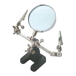 FOWLER 带夹立式放大镜 55723242 65mm 不代为第三方检测 1把