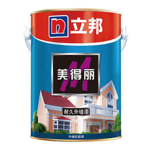 NIPPON/立邦 美得丽耐久外墙乳胶漆 美得丽耐久 哑光白 22kg 1桶