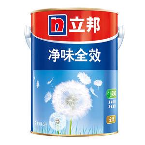 NIPPON/立邦 净味全效内墙乳胶漆 净味全效 哑光白 5L 1桶