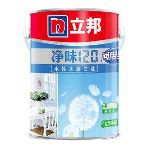 NIPPON/立邦 水性木器白面漆 净味120 白色 通用型 2.5kg 1桶