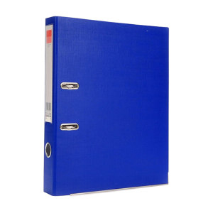 COMIX/齐心 欧式快劳夹 A107N FC 背宽55mm 纸容量35mm 蓝色 1个