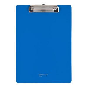 COMIX/齐心 经济型PP平板夹 A7041 A4 蓝色 1个