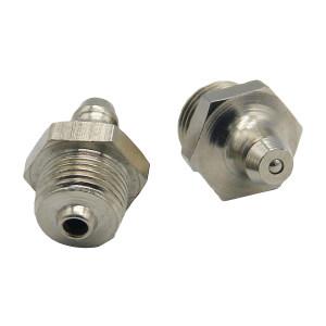GC/国产 不锈钢黄油嘴 不锈钢直油嘴M8x1 接口M8×1 弯角180° 1个