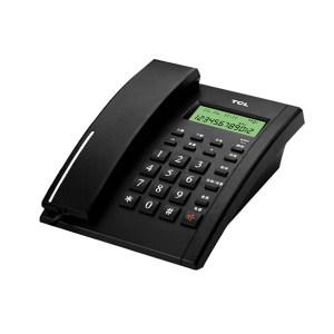 TCL 多功能电话机 HCD868 79型来电显示 黑色 1个