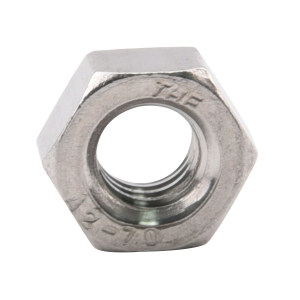 TONG/东明 DIN934 六角螺母 不锈钢304 A2-70 本色 211934016000000000 M16 60个 1包