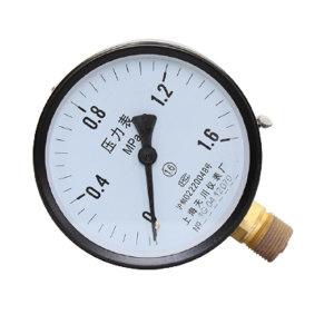 TC/天川 铁壳压力表(径向 不带边) Y150/0-0.6MPA/M20*1.5 铁壳/不耐震/径向/不带边/1.6级 1个