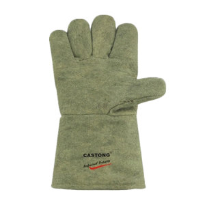 CASTONG/卡司顿 500℃耐高温手套 GEEE15-34 均码 长34cm 1双