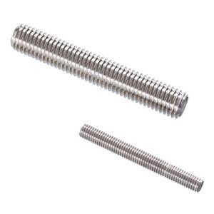 AOZ/奥展 DIN975 牙条 不锈钢304 A2-70 本色 211505018100000000 M18×1000 15个 1箱
