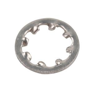 AOZ/奥展 GB861.1 内齿锁紧垫圈 不锈钢304 A2-100 本色 210085006000000000 φ6 500个 1包