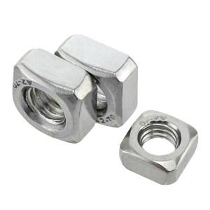 AOZ/奥展 DIN557 方螺母 不锈钢304 A2-70 本色 211531003000000000 M3 48000个 1箱