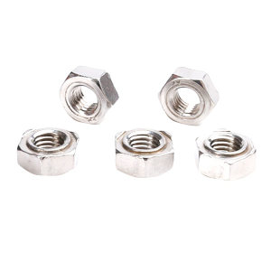 AOZ/奥展 六角焊接螺母 304 本色 M4 DIN929 1包