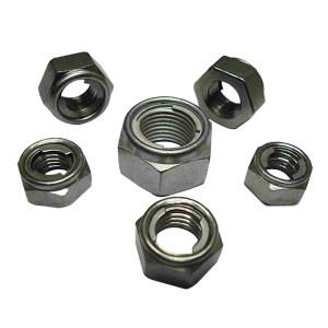 AOZ/奥展 DIN980 全金属六角锁紧螺母双片式-Type M 不锈钢304 A2-70 本色 211510008000000000 M8 100个 1包