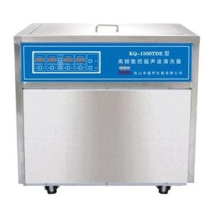 KSSHUMEI/昆山舒美 落地式高频数控超声波清洗器 KQ-1500TDE 超声功率1.5kW 112L 1件