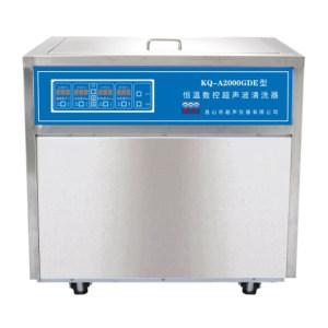 KSSHUMEI/昆山舒美 落地式恒温数控超声波清洗器 KQ-A2000GDE 超声功率2kW 160L 1件
