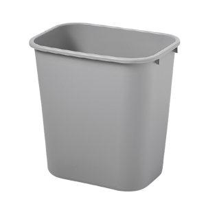 RUBBERMAID/乐柏美 中型垃圾桶 FG295600GRAY 365×260×381mm 26.6L 灰色 1个