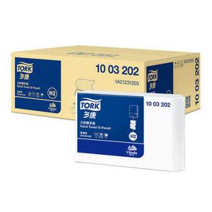 TORK/多康 三折单层擦手纸 1003202 226×208mm 180抽×21包 1箱