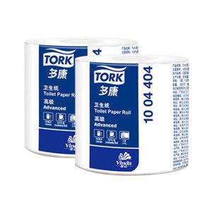 TORK/多康 高级小卷纸 1004404 三层200节 112×100mm 10卷×6提 1箱