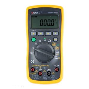 VICTOR/胜利 过程仪表校验仪 VC77 不支持第三方检测/计量 1台