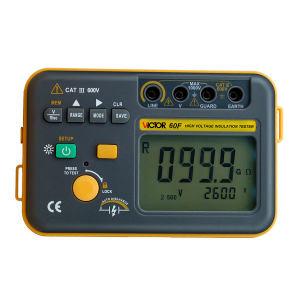 VICTOR/胜利 数字绝缘电阻测试仪高压兆欧表 VC60F 不支持第三方检测/计量 1台