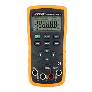 VICTOR/胜利 温度校验仪 VC01+ 不支持第三方检测/计量 1台