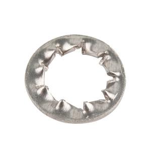 AOZ/奥展 DIN6798 内锯齿锁紧垫圈-J型 不锈钢304 A2-100 本色 210440006000000000 φ6 J型 150个 1包